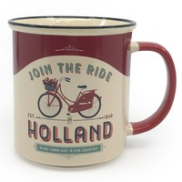 Typisch Hollands Large mug in gift box - Vintage Holland join the ride