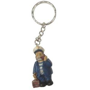 Typisch Hollands Keychain Captain 8cm