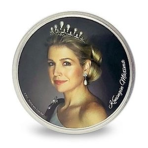Typisch Hollands Royal family - Candy tin - Round - peppermint (Maxima)