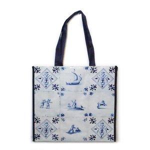 Typisch Hollands Luxury Delft blue Shopper