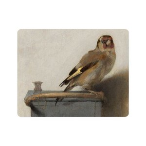 Typisch Hollands Mousepad - Carel Fabritius, The Goldfinch