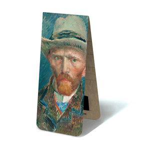 Typisch Hollands Magnetische boekenlegger -Zelfportret Vincent van Gogh
