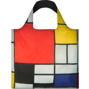 Typisch Hollands Opvouwbare tas - Vouwtas - Piet Mondriaan