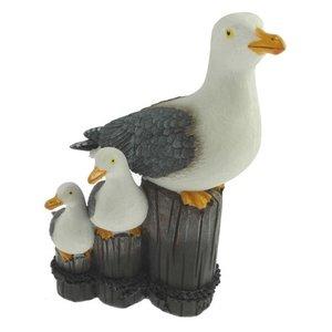 Typisch Hollands Seagull's head 3 on poles 16cm