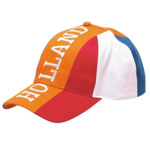 Holland fashion Oranje cap - Holland -  | Rood-Wit-Blauw label