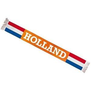 Typisch Hollands Orange - Holland scarf d`luxe (fleece) 150 cm