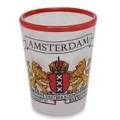 Typisch Hollands Shot glass - Amsterdam (City Coat of Arms)