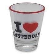 Typisch Hollands Shot glass - I love Amsterdam