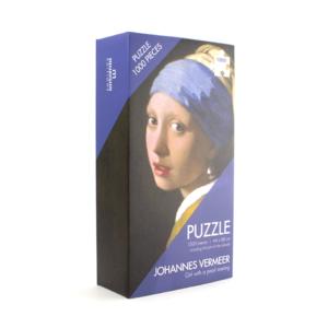 Typisch Hollands Puzzel 1000 stukjes Het meisje met de parel