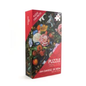 Typisch Hollands Puzzel 1000 stukjes - Bloem uit de gouden eeuw (Heem)