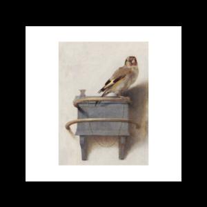 Typisch Hollands Tea towel - Fabritius - The goldfinch