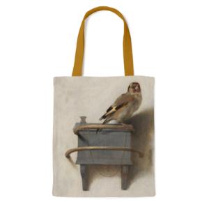 Typisch Hollands Cotton Tote Bag - Fabritius - The Goldfinch