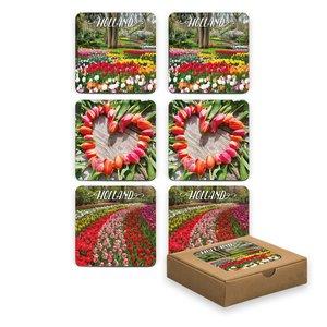 Typisch Hollands Coasters - Tulips - Spring - Copy