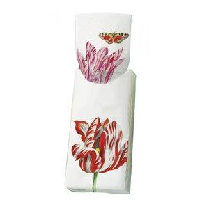 Typisch Hollands Papieren zakdoekjes - tulpen- Jacob Marrel