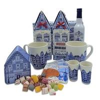 www.typisch-hollands-geschenkpakket.nl Old Dutch tea package (in Delft blue box)