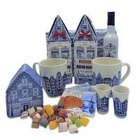 www.typisch-hollands-geschenkpakket.nl Oud Hollands thee-pakket ( in Delfts blauwe doos)