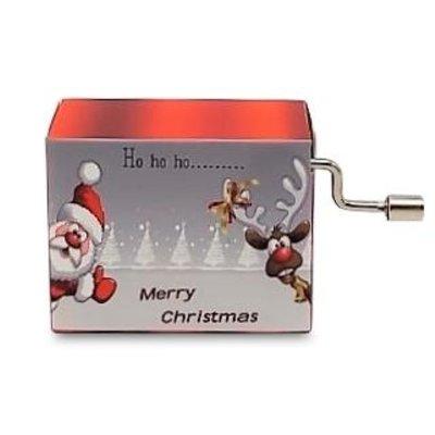 Typisch Hollands Muziekdoosje - Kerst - Santa Claus is comming to town