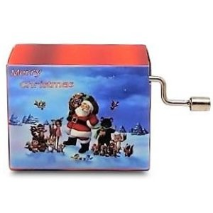 Typisch Hollands Music box - Christmas - We wish you a merry christmas