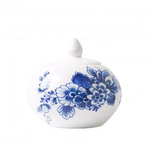 Typisch Hollands Sugar bowl Delft blue - 10 cm