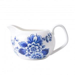 Typisch Hollands Milchkännchen Delfter Blau - Blumenmuster