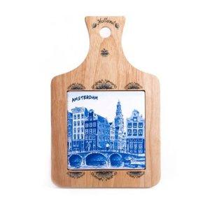 Typisch Hollands Kaasplank klein Grachten Amsterdam