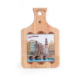Typisch Hollands Cheeseboard small canals Amsterdam