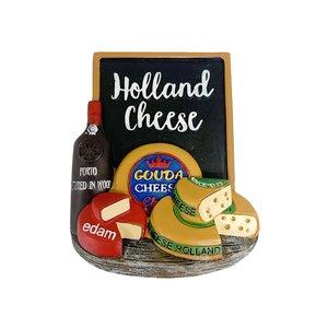 Typisch Hollands Magnet - Holland - Cheese - Gouda and Edam