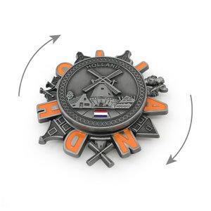 Typisch Hollands Spinner Magneet - Holland - Molen