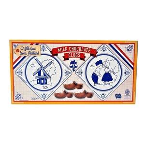 Typisch Hollands Chocolate clogs