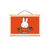 Nijntje (c) Poster Miffy a3 size (29.7x42.0cm) - Miffy shop