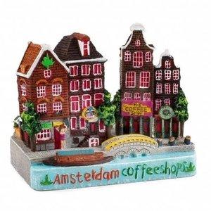 Typisch Hollands Stadstafereel Amsterdam - Coffeeshop 9 cm