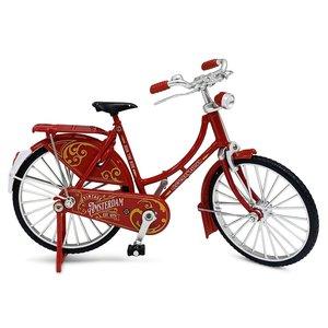 Typisch Hollands Miniature bicycle - 18 cm - Red - Amsterdam