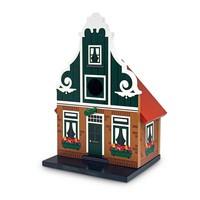 Typisch Hollands Birdhouse stone bell gable Zaans
