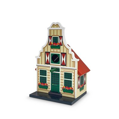 Typisch Hollands Birdhouse gray Waterland bell gable