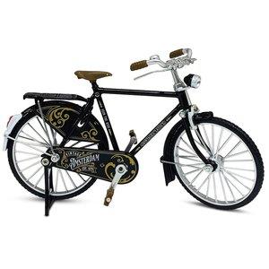 Typisch Hollands Miniature bicycle - 18 cm - Black - Amsterdam