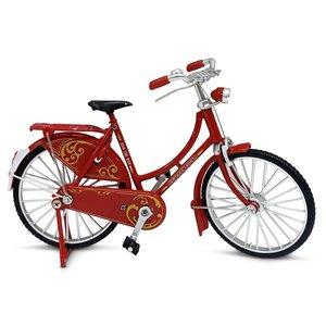 Typisch Hollands Miniature bicycle - 18 cm - Red - Neutral