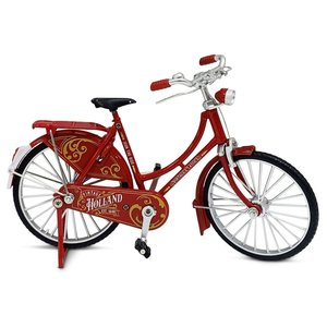 Typisch Hollands Miniature bicycle - 18 cm - Red - Holland