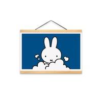 Nijntje (c) Poster Miffy a3 size (29.7x42.0cm) - Miffy in the bath