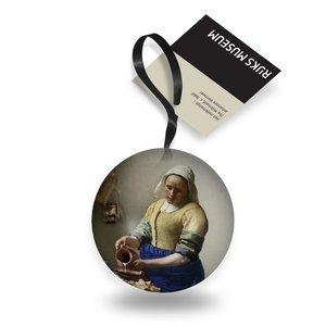 Typisch Hollands Kerstbal - Rijksmuseum - Melkmeisje