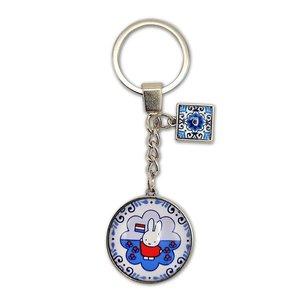 Nijntje (c) Sleutelhanger Nijntje souvenir blue