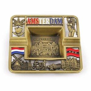 Typisch Hollands Ashtray metal - Amsterdam
