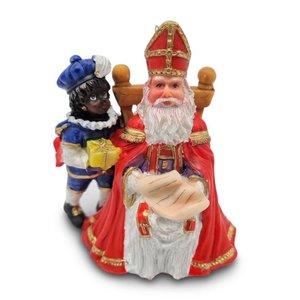 Typisch Hollands Sint and Piet on a home visit