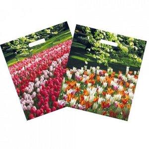 Typisch Hollands Plastiktragetasche Tulpen