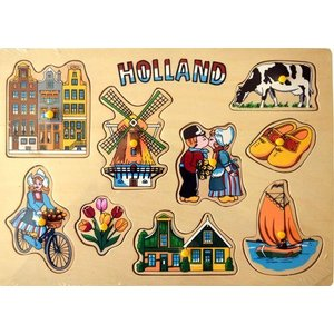 Typisch Hollands Kinder Puzzel - Holland