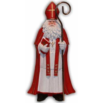 Typisch Hollands Sinterklaas met boek Groot ( Nostalgisch)