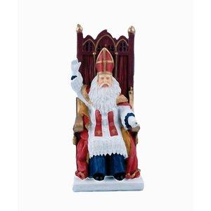 Typisch Hollands Sinterklaas on chair (TV Sinterklaas)
