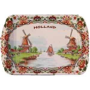 Typisch Hollands Dienblad Kunststof Groot