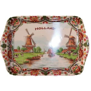 Typisch Hollands Dienblad Mini Polychrome