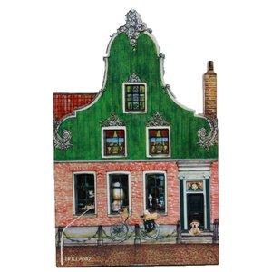 Typisch Hollands Magneet Zaans Huisje