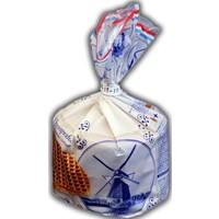 Stroopwafels (Typisch Hollands) Stroopwafels in Delft blau Verpackung